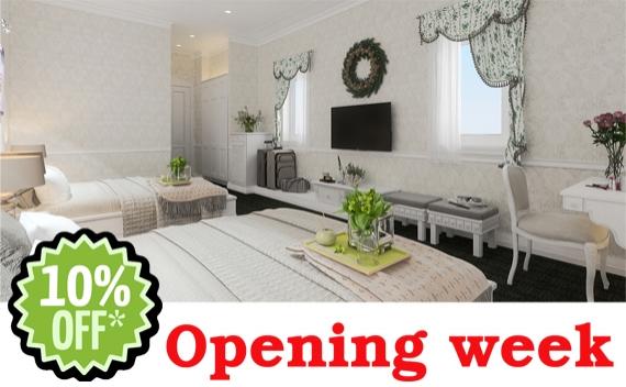 Opening Week Promotion